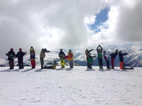 Snowboarden mit HIGH FIVE Foto: High Five