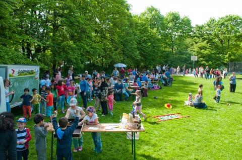 Familienfest an der Karl-Lipp-Straße     Foto: Benjamin Hilbig