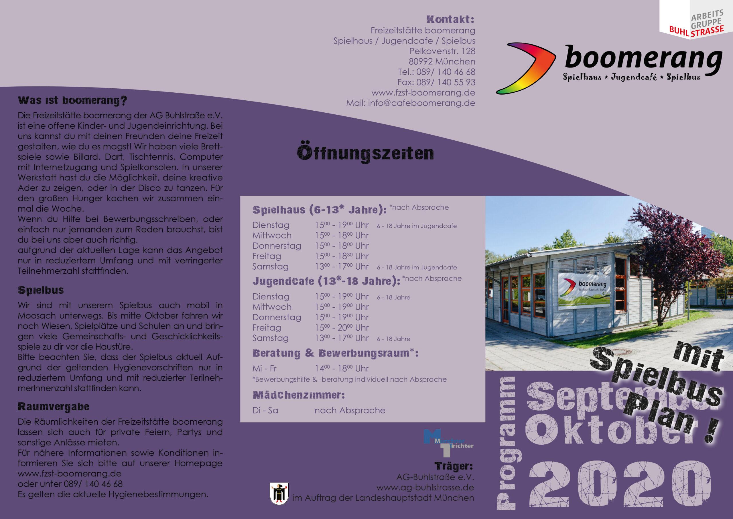 Boomerang Programm